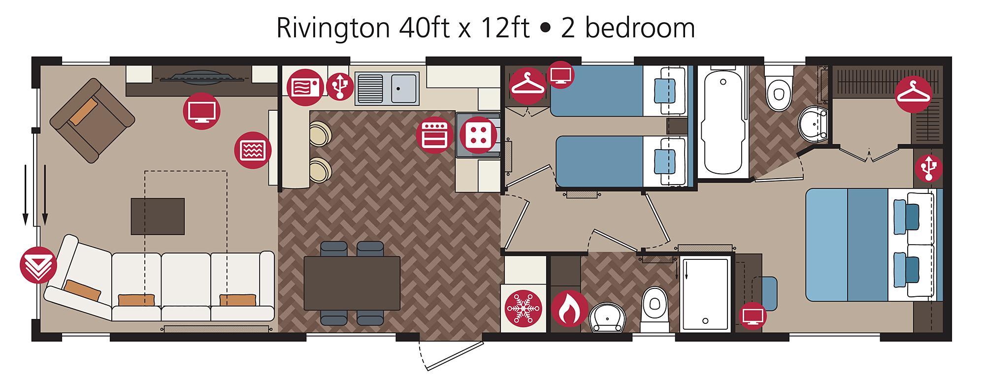 Rivington floorplan